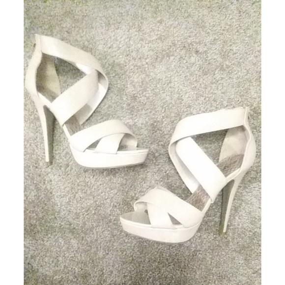 23ba6a25f69 Madden Girl Shoes - Madden Girl nude high heel pumps